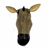 Zebra Mask - Made in Kenya