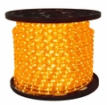 LED 2-Wire 1/2� 120v Directional Amber Rope Light - 150�