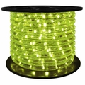 "LED 2-Wire 1/2"" 120v Directional Lime Green Rope Light - 150'"