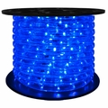"LED 2-Wire 1/2"" 120v Directional Blue Rope Light - 150'"