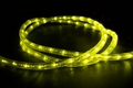 "LED 2-Wire 1/2"" 120v Directional Rope Light Custom Cut - Lime Green"