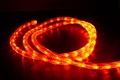 "LED 2-Wire 1/2"" 120v Directional Rope Light Custom Cut - Orange"