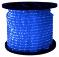 "LED 2-Wire 1/2"" 120v Omnidirectional Blue Rope Light - 150'"