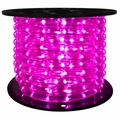 "LED 2-Wire 1/2"" 120v Omnidirectional Purple Rope Light - 150'"