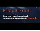 "Osram Night Breakers<font color =""red""><BR><b>NEW</b> <u>Night Breaker Unlimited</u></font color>"
