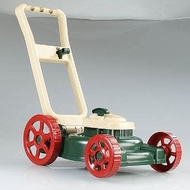 American Plastic Toys Lawn Mower with Pull Starter and Motor Sound - click to enlarge