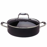 Anolon 5-Quart 11-Inch Sauteuse with Glass Lid - click to enlarge