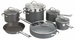 Anolon 81845 Professional Hard Anodized Nonstick 12 Piece Cookware Set - click to enlarge