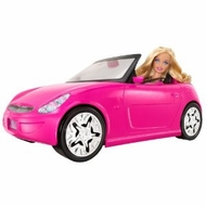 Barbie Doll and Vehicle - click to enlarge