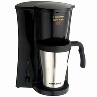 Black & Decker DCM18S Brew 'n Go Personal Coffeemaker w/ Travel Mug - click to enlarge