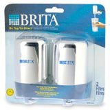 BRITA 42618 Replacement Filter Cartridge (2 pack Chrome)