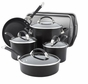 Circulon Symmetry Hard Anodized Nonstick 9-Piece Cookware with 2-Piece Bakeware Set