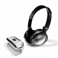 Coby CV18523 Jammerz Xtreme Deep Bass Stereo Headphones and Speakers Sliver - click to enlarge