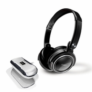 Coby CV18523BLK Jammerz Xtreme Deep Bass Stereo Headphones and Speakers, Black - click to enlarge