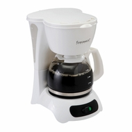 Continental CE23651 4 Cup Coffee Maker, White - click to enlarge