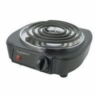 Continetal CE23309 Single Burner, 1100W, Black - click to enlarge