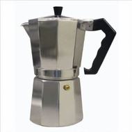 CucinaPro 270-09 Aluminum Stovetop Espresso Maker - 9 Cup - click to enlarge