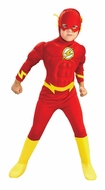DC Comics The Flash Muscle Chest Deluxe Child Costume Kid's Costumes Small - click to enlarge