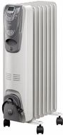 DeLonghi 6707E Oil-Filled Radiator w/ Electronic Climate Control - click to enlarge