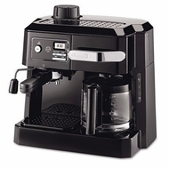 DeLonghi BCO320T Combination Espresso and Drip Coffee, Black - click to enlarge