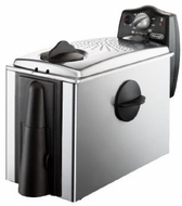 DeLonghi D455DZ Dual Zone Deep Fryer, 3 lbs Capacity - click to enlarge