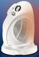 DeLonghi DFH550R Safeheat Fan Heater - click to enlarge