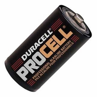 Duracell Procell Professional D Alkaline Batteries, 12-Count - click to enlarge