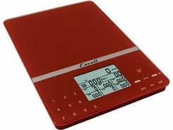 Escali 115NWP Cesto Nutritional Tracker Warm Red - click to enlarge