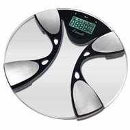 Escali BFBW200 Glass Body Fat Bathroom Scale, 400lb - click to enlarge