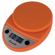 Escali P115PO Primo Digital Scale Pumpkin Orange - click to enlarge