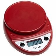 Escali P115WR Primo Digital Scale Warm Red - click to enlarge