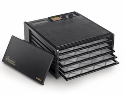 Excalibur 3526TB 5 Tray Dehydrator with Timer Black - click to enlarge