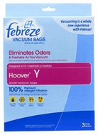 Febreze Vacuum Bags Hoover Y Bag - click to enlarge
