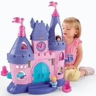 Fisher-Price Little People Disney Princess Songs Palace - click to enlarge