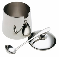 Frieling Sugar Bowl and spoon set - click to enlarge