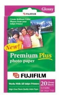FujiFilm Inkjet Premium Plus Paper Glossy 4 x 6 5 pack - click to enlarge