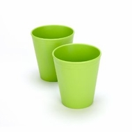 Green Eats 2 Pack Tumblers, Green - click to enlarge