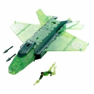 Green Lantern Ring Blast Jet - click to enlarge