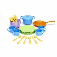 Green Toys Cookware and Dining Set : Made in America - click to enlarge