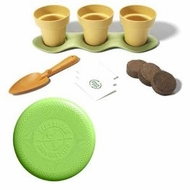 Green Toys Indoor Gardening Kit Plus EcoSaucer Flying Disc Bundle - click to enlarge