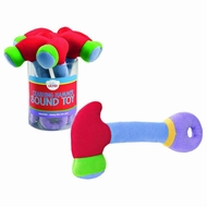 Gund 058752 Baby Crashing Hammer Sound Rattle, Red, 8.5 Inch - click to enlarge