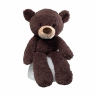 Gund 320115 Fuzzy Chocolate 13.5 inch Bear Plush - click to enlarge