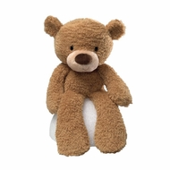Gund 320116 Gund Fuzzy Beige 13.5 Inch Bear Plush - click to enlarge
