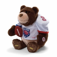 Gund 320474 Gridiron Fanatic 13 Inch Animated Blue - click to enlarge
