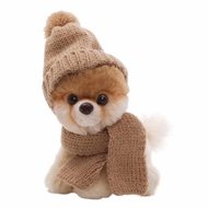 Gund 4033196 Itty Bitty Boo Knit Hat & Scarf 5 Inch Plush - click to enlarge