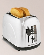 Hamilton Beach 22669 2 Slice Chrome Toaster - click to enlarge