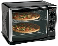Hamilton Beach 31197 Countertop Convection Oven with Rotisserie - click to enlarge