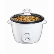 Hamilton Beach 37532 20-Cup Capacity Rice Cooker, White - click to enlarge