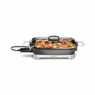 Hamilton Beach 38540 16-inch Step Up Skillet, Black - click to enlarge