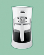 Hamilton Beach 40111 Eclectrics All-Metal Coffeemaker  - White - click to enlarge